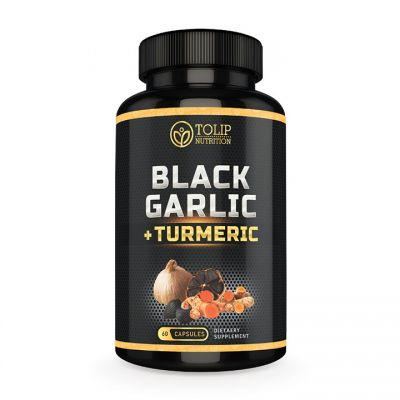 Black Garlic & Turmeric